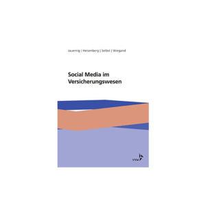 Buchcover Social Media im Versicherungswesen